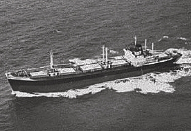Dry cargo ship (UK) 1968